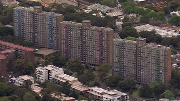 There are more than 600 residents across three towers.