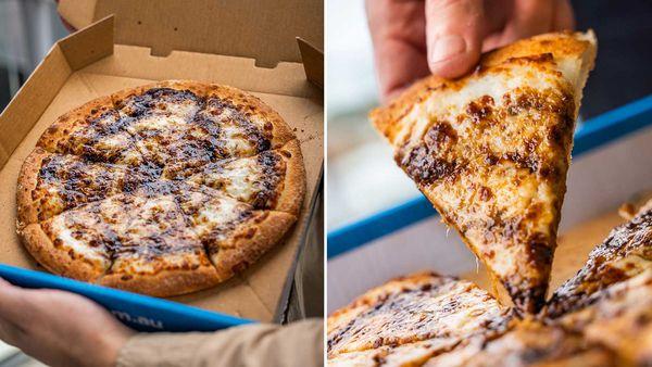 Domino's Cheesy Vegemite Pizza