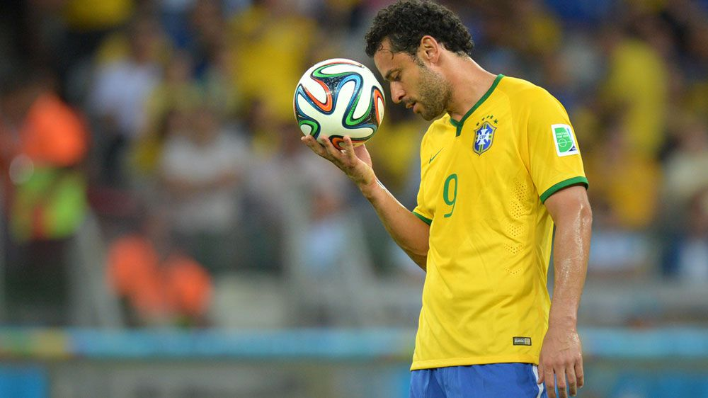 Brazil star Fred, who has been banned for doping. (AFP)