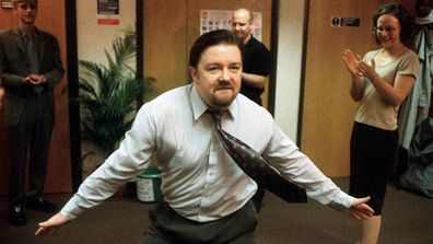 'The Office' director and star, Ricky Gervais.