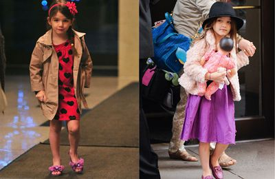 <b>Suri, Suri, Suri</b>. She's probably at the top of the list when it comes to spoilt rotten kids. <b>Tom Cruise</b> and <b>Katie Holmes'</b> little girl is a one of a kind princess. The five year old reportedly has a $4 million wardrobe, packed to the brim with up to the minute designer wear. She's been in high heels since the age of three, wears make up and eats cupcakes for breakfast. Suri also has an iPad, a custom built mini car and once had an entire zoo shutdown for the day just so she could visit the animals.