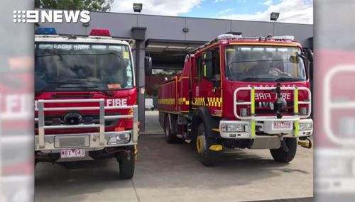 Four male firefighters have been suspended pending the outcome of the CFA investigation.