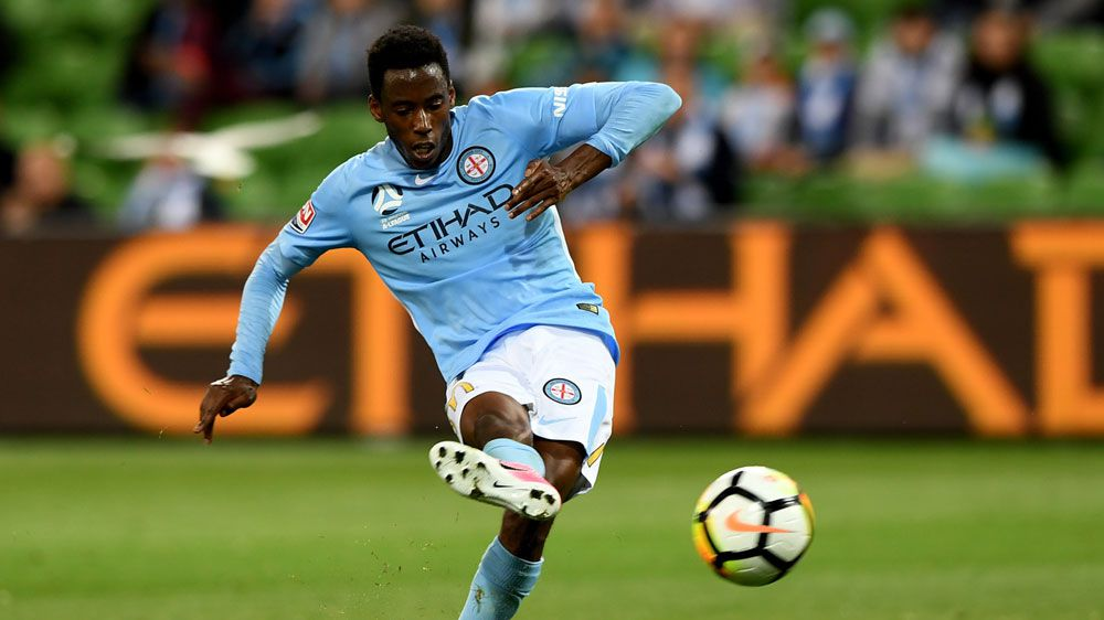 Kamau's A-League double as City beat Roar