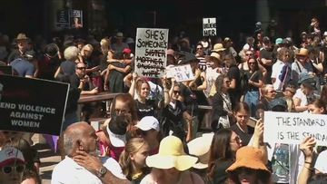The organisers are calling for sweeping action to stamp out sexual assault.