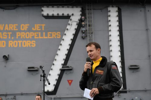 Fired, commander of United States  aircraft carrier infected with Coronavirus