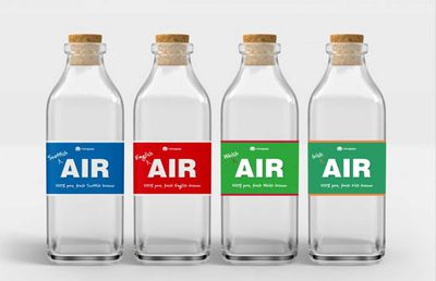 Outrage over company selling $45 bottled air to stranded expats