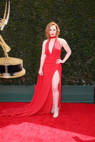 <em>The Young and the Restless </em>actress&nbsp;Camryn Grimes in Steph Audino Couture
