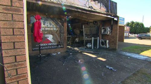 The supplement store in Penrith was destroyed in a 'suspicious' fire overnight.