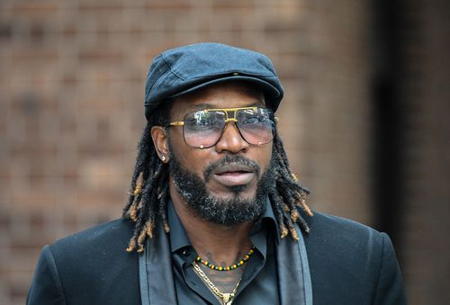 West Indies' Cricket player Chris Gayle leaves the King street Courts in October, for an earlier appearance during his defamation case.
