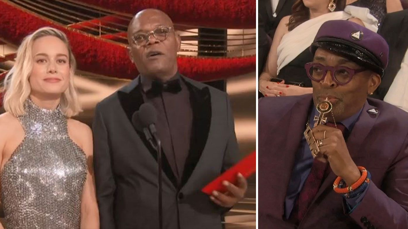 New York Knicks victory announcement interrupts the Oscars