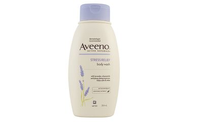 "<a href=""http://www.aveeno.com.au/products/stress-relief-body-wash"" target=""_blank"">Stress Relief Body Wash, $9.99, Aveeno</a>"