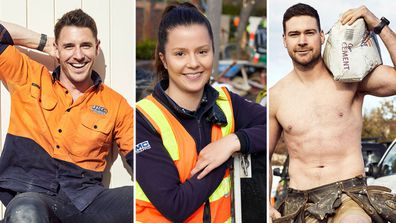 The Block Hottest Tradies.