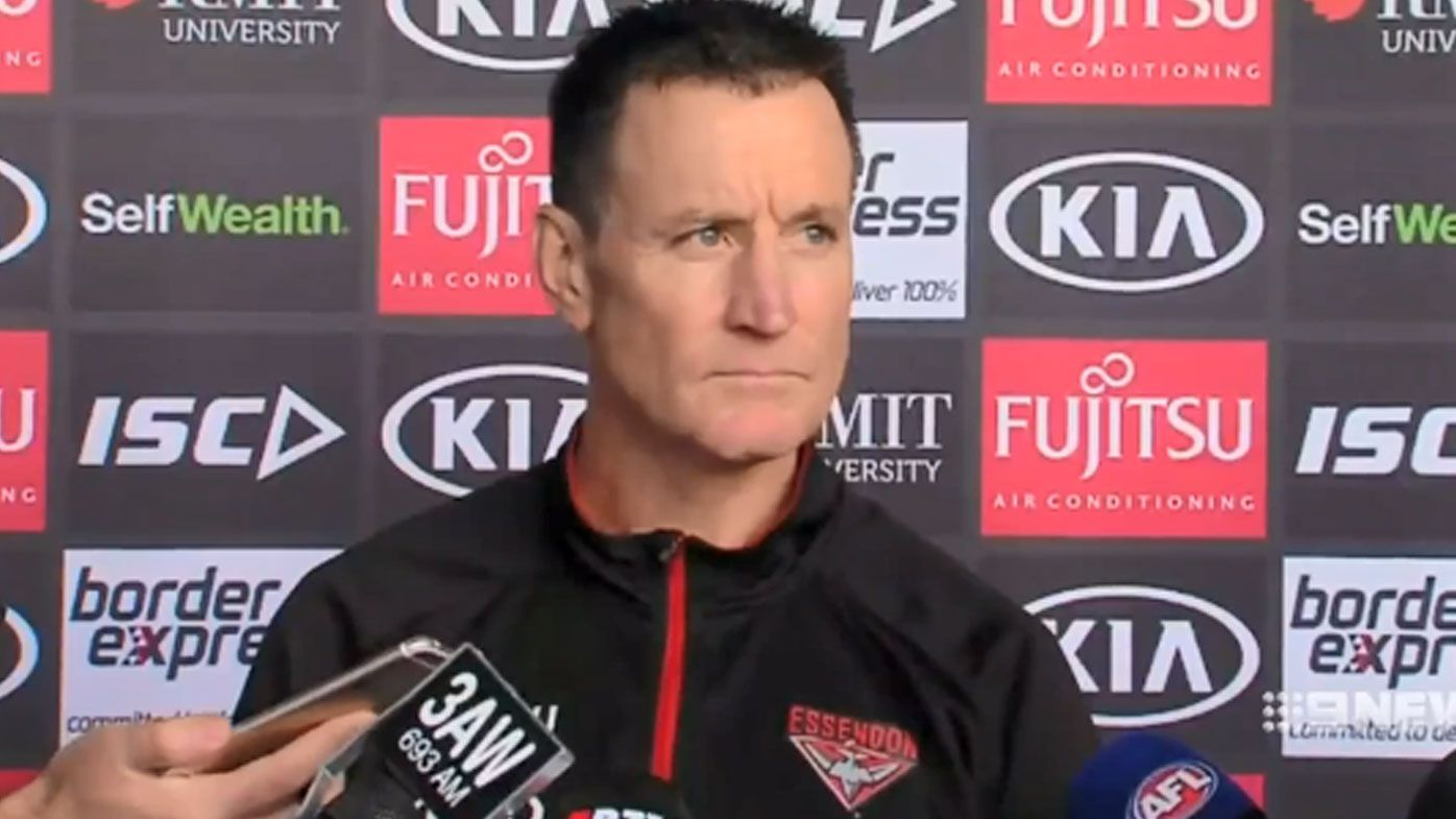 Tim Watson's warning on Essendon coaching plan: 'This could be disastrous'