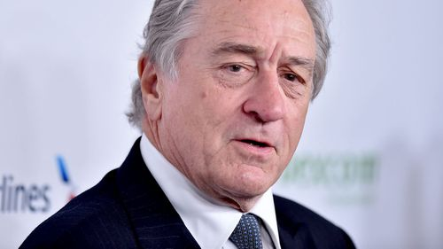 Hollywood actor Robert De Niro.