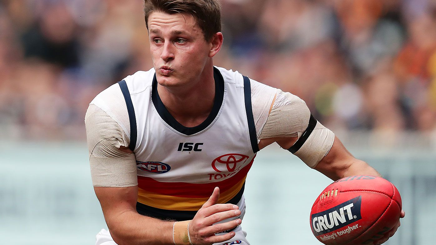 Adelaide Crows star Matt Crouch avoids suspension for late hit on Clayton Oliver