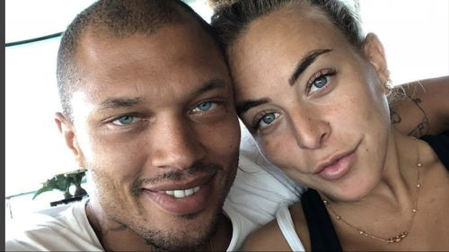 Jeremy and Chloe share one of many loved-up photos on Instagram.