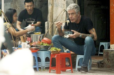 Singular culinary storyteller Anthony Bourdain, who tragically took his life at the age of 61.