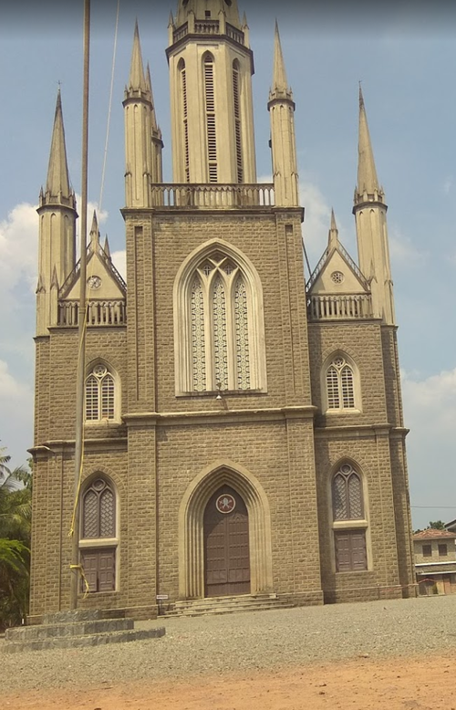 A church in Kottayam, Kerala. As religious authorities are held in high regard, abuse victims are often scared to talk out.