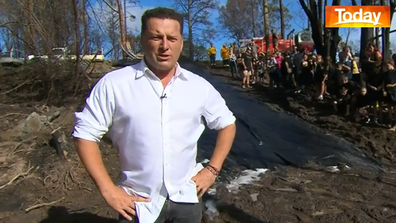 Stefanovic had a bit of a Friday adventure...