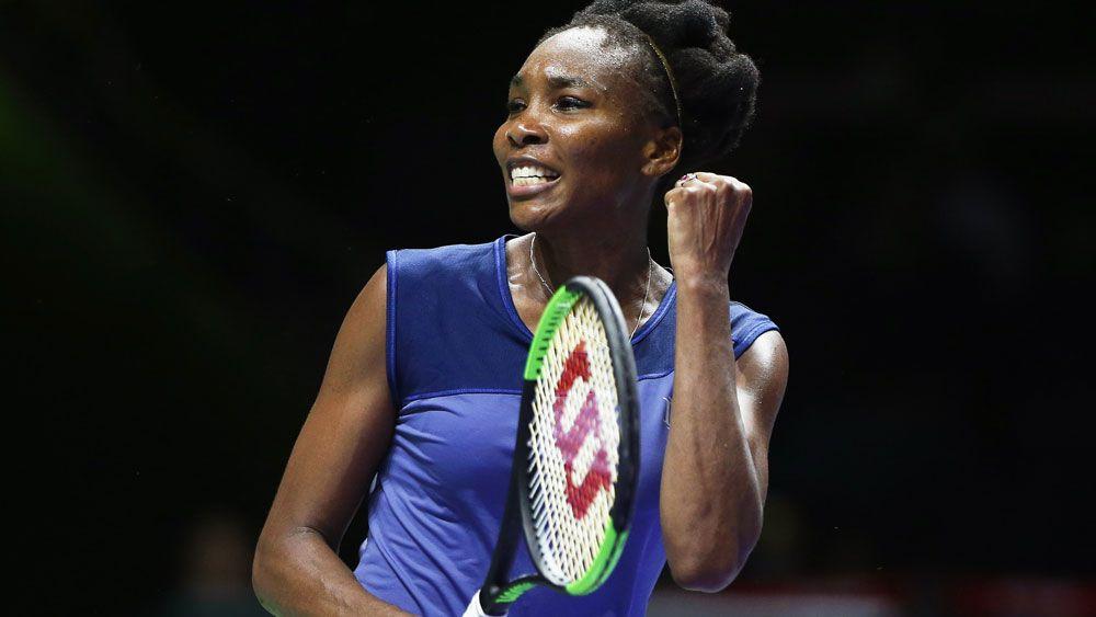 Venus Williams wins three hour marathon match against Jelena Ostapenko at WTA FInals in Singapore