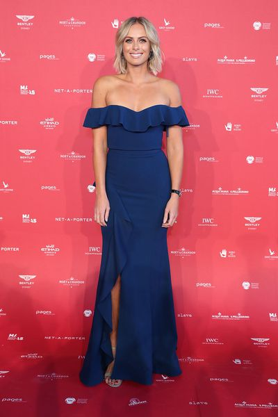 "<p>Wearing form-fitting Rebecca Vallance, <em>Today'</em>s Sylvia Jeffreys set the red carpet-ready tone for <a href=""https://style.nine.com.au/2018/02/01/13/45/australias-met-gala"" target=""_blank"" draggable=""false"">Australia's answer to the Met Gala</a> as the event's host.</p> <p>The inaugural celebration of style still has some way to go before reaching the heights of the unofficial fashion Oscars in New York but Marie Claire cover star Jesinta Franklin in Toni Maticevski, supermodel Catherine McNeil in Balenciaga, Pip Edwards in Rebecca Vallance and stylist Catherine Baba in Romance Was Born showed that there's more to Australian style than the Brownlow or the Logies.</p> <p>Jeffrey's joked that her own wardrobe, featuring a number of Vallance designs, including her wedding dress, could rival the Centre's extensive collection. Supporting Jeffrey's with her impeccable hosting duties were her second favourite set of famous brothers, Jordan and Zac Stenmark.</p> <p>The elegant occasion raised money for the Centre for Fashion and Australian design royalty Akira Isogawa, Collette Dinnigan, Dinosaur Designs's Louise Olsen and Stephen Ormandy and Jenny Kee and Linda Jackson were on hand to show their support.</p> <p>Apart from Maticevski and Vallance, who dominated the red carpet, the night belonged to Deputy Prime Minister Julie Bishop, showing off her toned arms in a Rachel Gilbert gown.</p> <p>Vogue editor Edwina McCann and Harper's Bazaar editor Kellie Hush put aside cover rivalries and shared the stage to drive home the message of Australia's fashion media uniting behind the worthwhile cause before the evening shifted gears with The Presets taking to the stage.</p> <p>In a country where the dress code rarely rises above smart casual the black-tie affair has set the bar high for future fashion celebrations. Expect Melbourne to retaliate to the success of the Sydney affair next month at the Virgin Australia Melbourne Fashion Festival.</p> <p>Click through to see all the highlights of the 2018 MAAS Centre for Fashion Ball.</p>"
