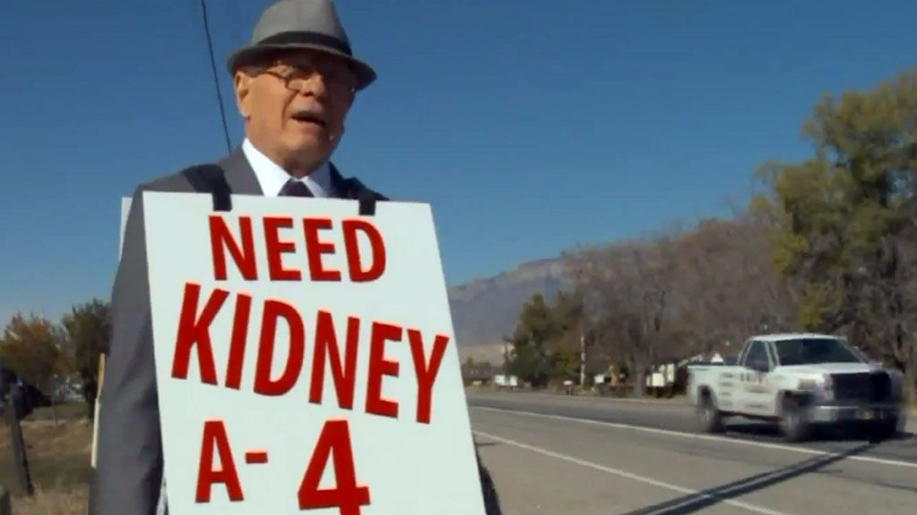 Man finds kidney for wife, sets his sights higher