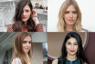 While an impeccable wardrobe and a Gucci Dionysus bag will get your far in the street-style stakes, the real secret to catching the camera's lens is nailing a signature beauty look. Here are four top street stylers who prove that finding what works for you will always elevate your outfit.