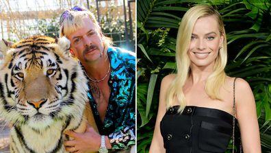 Margot Robbie, Tiger King, Joe Exotic