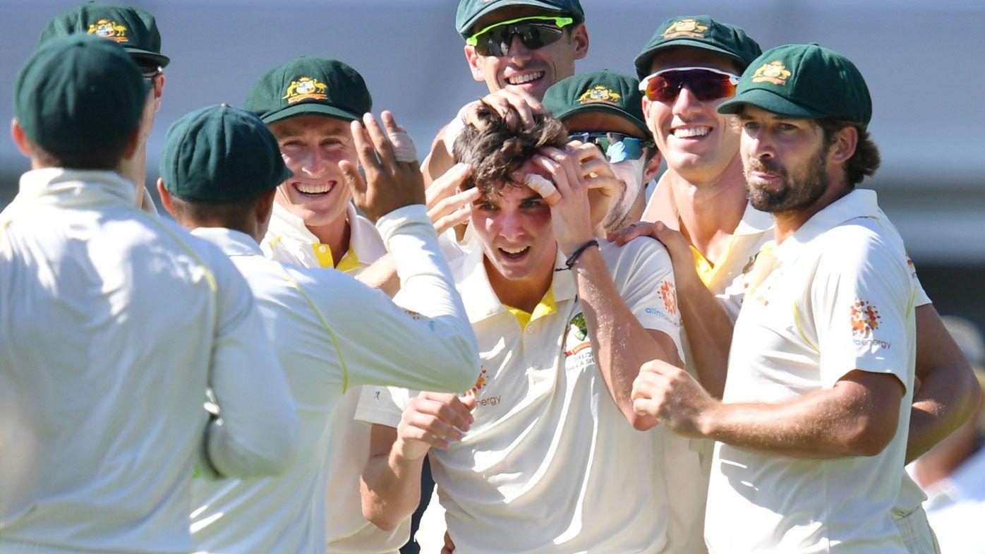 Cricket: Australia on top of Sri Lanka at Gabba on Day 1