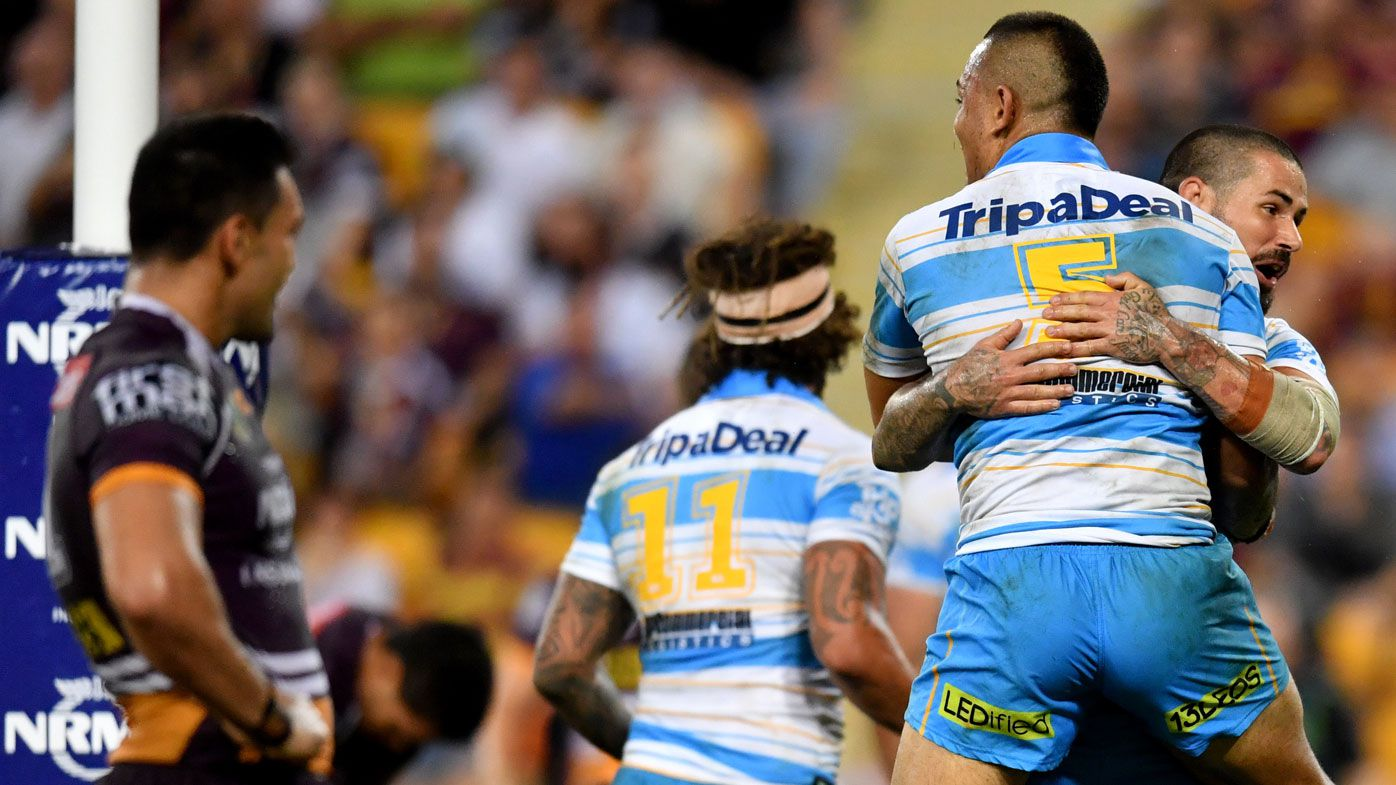 Gold Coast Titans turn tables in big NRL win over Brisbane Broncos at Suncorp Stadium