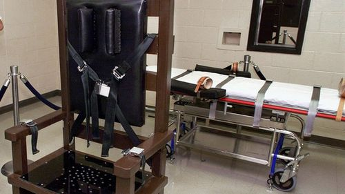 The death penalty chamber at  Riverbend Maximum Security Institution in Nashville.