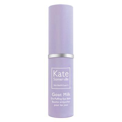 "<a href=""http://www.sephora.com/goat-milk-de-puffing-eye-balm-P407401"" target=""_blank"">Kate Somerville Goat Milk De-Puffing Eye Balm, $38.</a>"