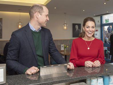 Kate Middleton Prince William visit Wales