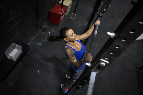 The super-fit mum broke a Guinness World Record for most pull-ups in 24 hours. Picture: Supplied
