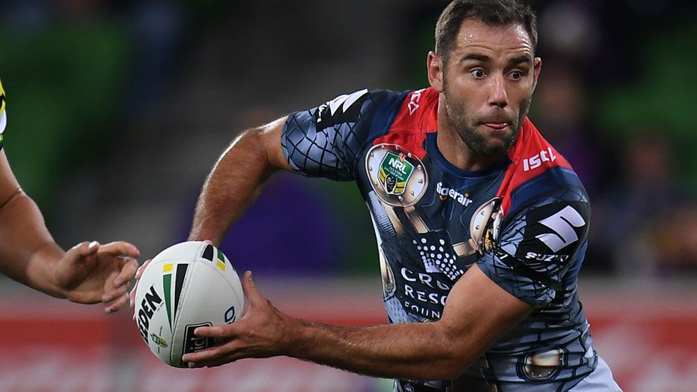 Cameron Smith and the Melbourne Storm are showing the rest of the NRL how it is done. (AAP)