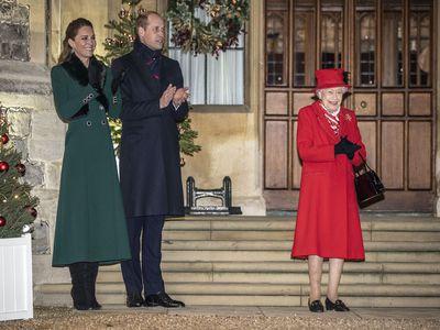 Senior royals reunite at Windsor Castle, December