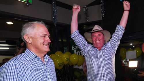 Prime Minister Malcolm Turnbull and Deputy Prime Minister Barnaby Joyce. (AAP)