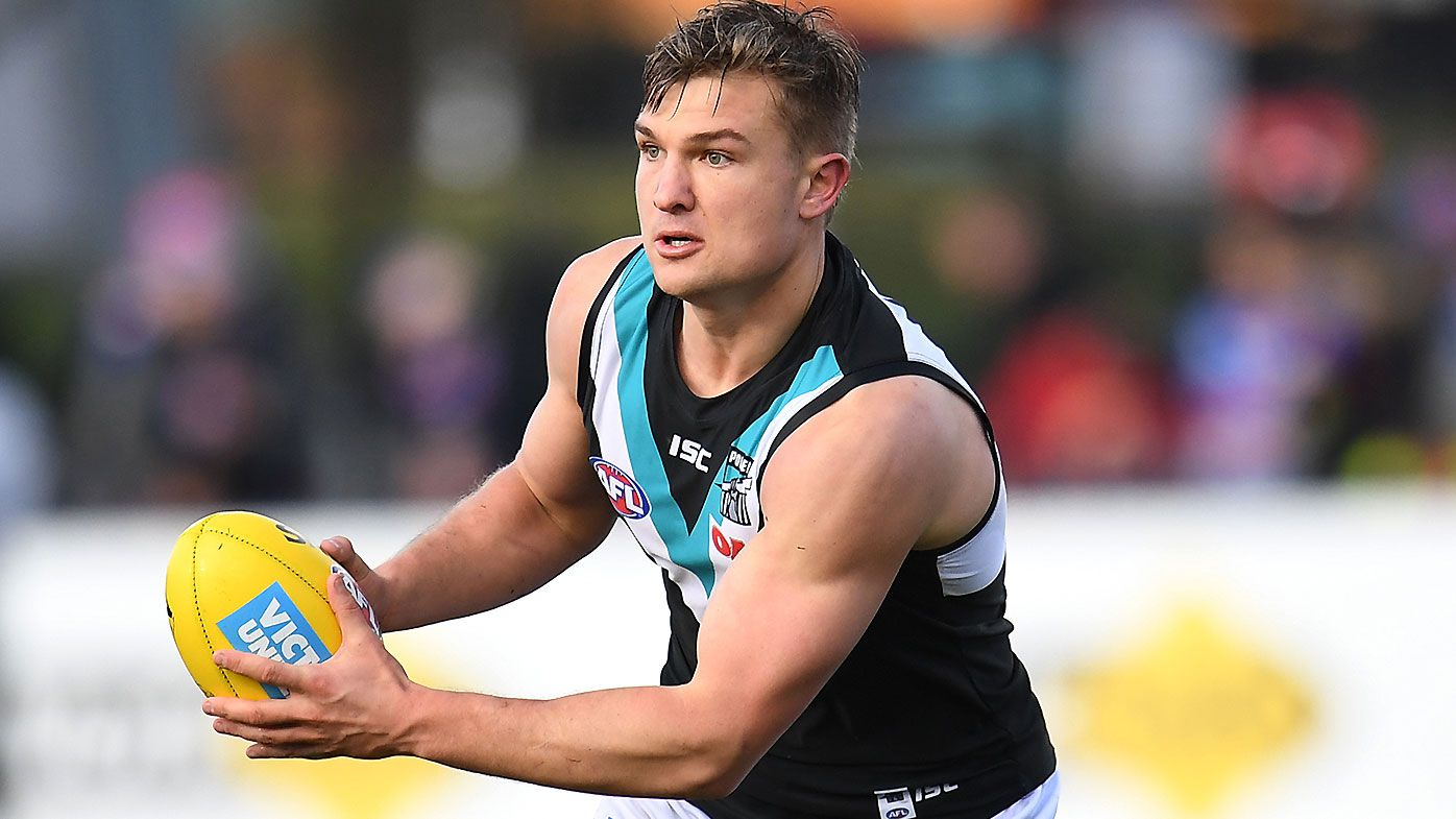 Port Adelaide reportedly allowed Ollie Wines to water-ski prior to 'significant' injury