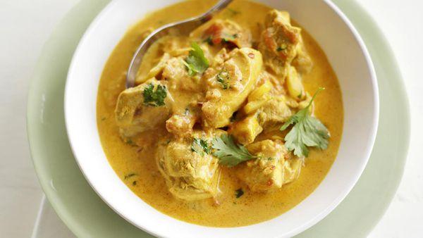 Kenyan chicken curry
