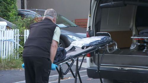 Police are treating the death as suspicious. (9NEWS)