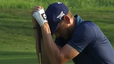 Golf: Kevin Dougherty breaks down after dream of making PGA Tour falls centimetres short