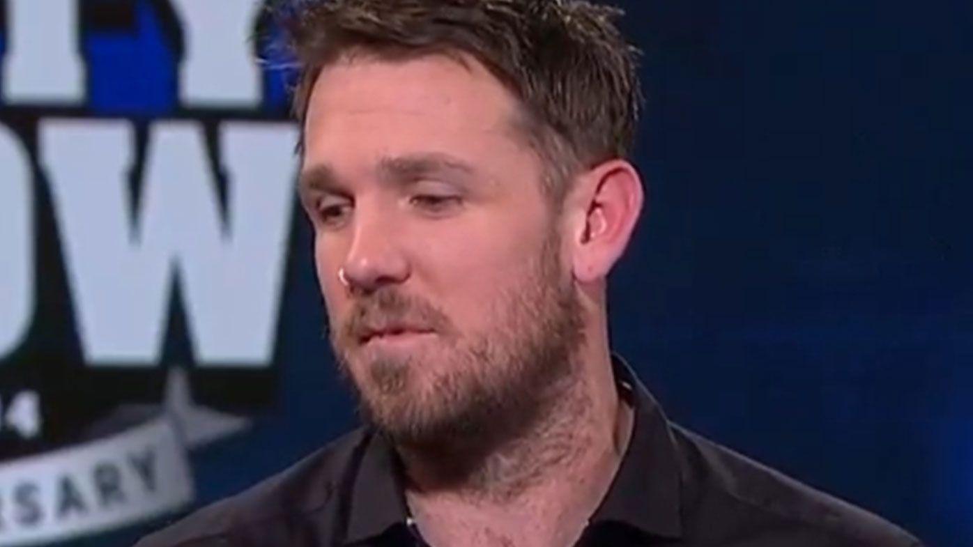Dane Swan discusses private video leak on AFL Footy Show return