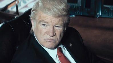 Brendan Gleeson as President Donald Trump on Stan's The Comey Rule.