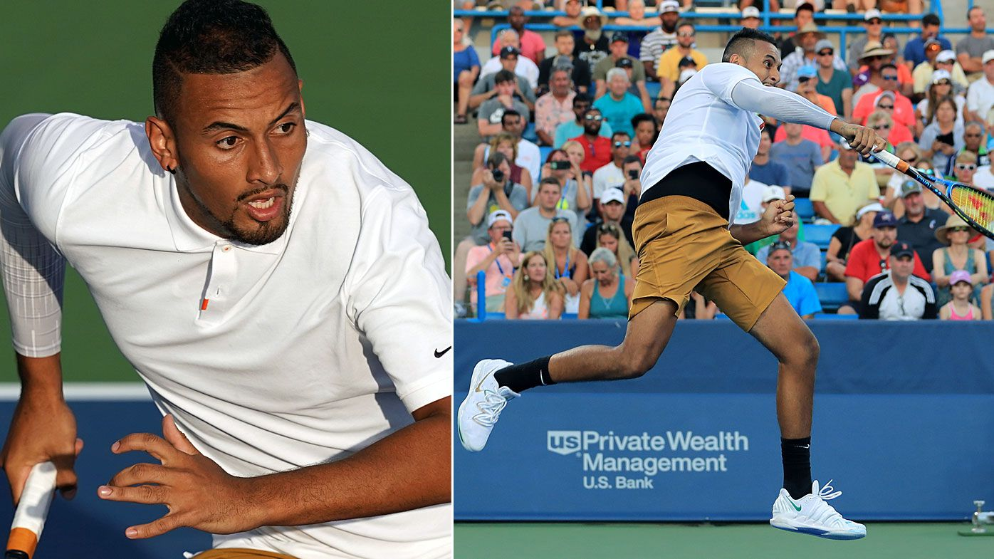 'Ridiculous' Nick Kyrgios stuns commentators in Cincinnati Masters win