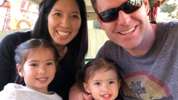 Tristan Beaudette (right) and his family