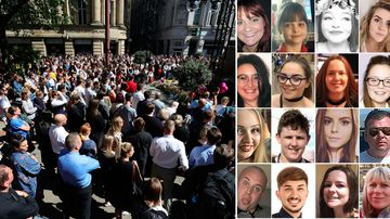 'We won't be beaten': Manchester unites one year on from bombing