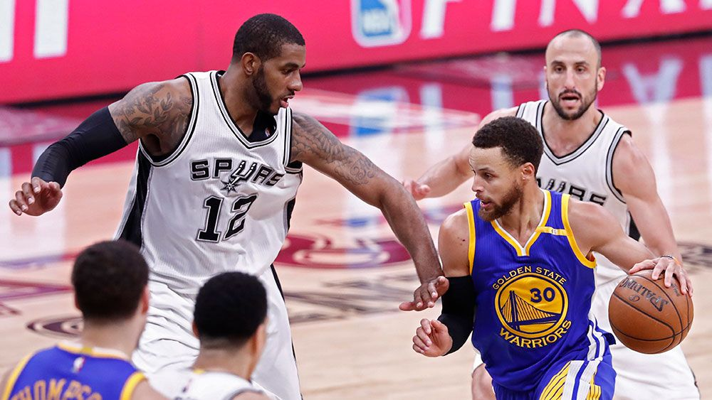 Golden State demolishes San Antonio to reach NBA Finals