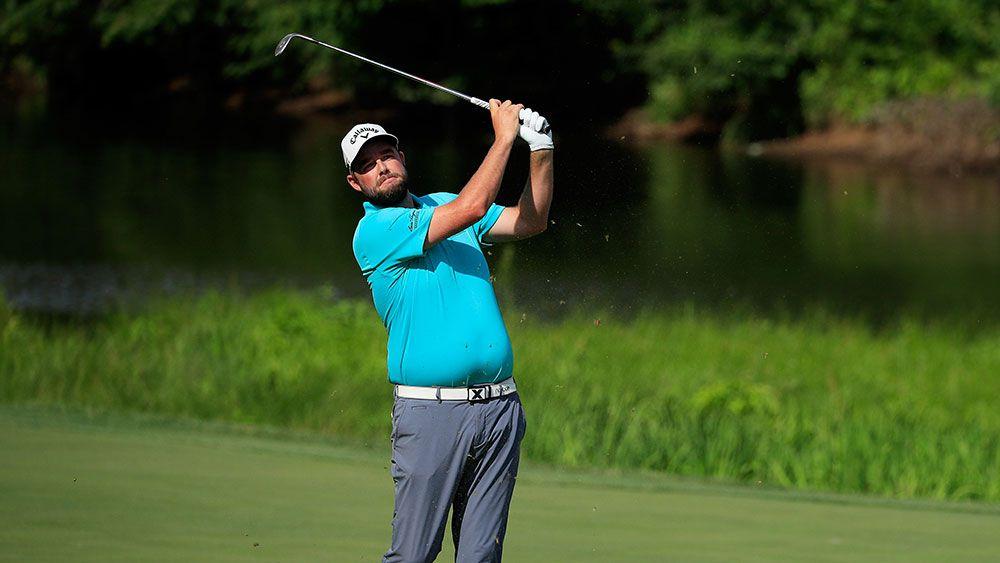 Aussie golfer Marc Leishman in contention at Quicken Loans National