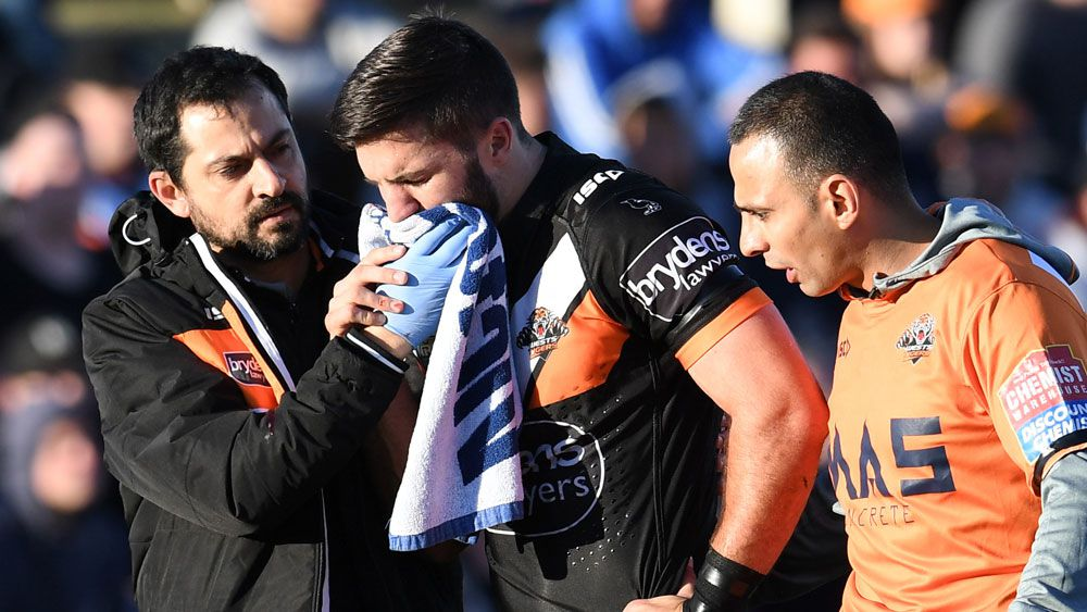 Tedesco back at Tigers training