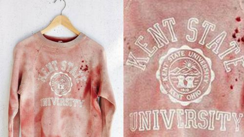 Urban Outfitters' Kent State sweatshirt. (Supplied)
